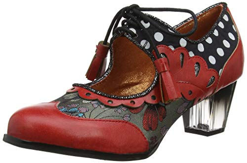 Poetic Licence by Irregular Choice Damen Lone Star Mary Jane Halbschuhe,