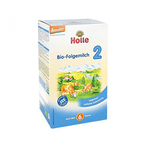 HOLLE Bio Säuglings Folgemilch 2 600 g