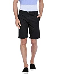 Showoff Men's Printed Casual Slim Fit Shorts - B01LYXCRB3