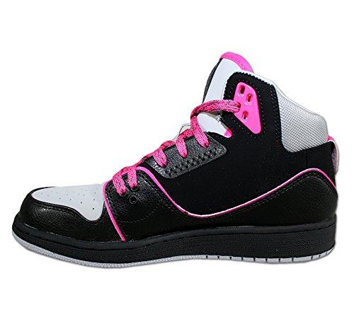 Nike Air Jordan 1 GS Junior 631788-060 Valigetta 2, colore: nero, Nero (nero), 38
