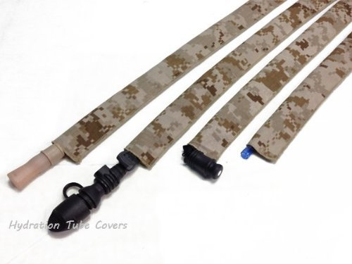 MARPAT Desert Digital Hydration Pack Drink Tube Cover by Hydration Tube Covers -