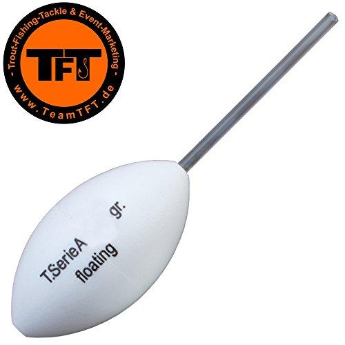 TFT Maracas Oberflächen Rassel - Bombarde Rasseln zum Forellenangeln am Forellensee, Bombarde zum Angeln auf Forelle, Gewicht:8g