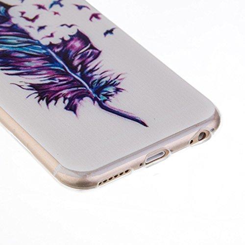 iPhone 5C Hülle, iPhone 5C Silikon Schutz Handy Hülle Kratzfeste Tasche Handyhülle TPU Gel Case Weiches Bumper Schutzhülle, SainCat Silikon Crystal Clear Case Durchsichtig Malerei Schwarz Muster Trans Camouflage-Muster