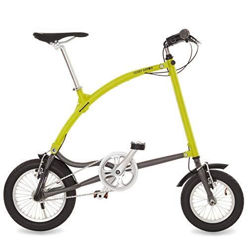 Ossby Arrow Bicicleta Plegable 3 velocidades (Amarillo)