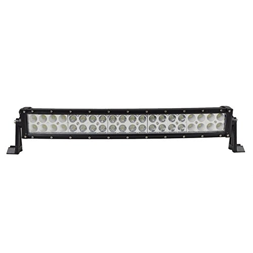 Gebogene Appliance (auxtings 55,9 cm 120 W gebogen LED Light Bar Flood Spot Offroad SUV UTE ATV Truck fahren,)