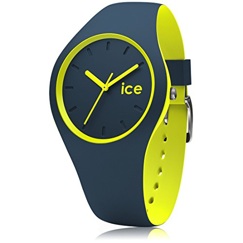 Ice-Watch - ICE duo Safety blue - Montre bleue mixte avec bracelet en silicone - 012970 (Small)