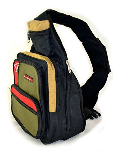Zaino, zaino per la scuola, borsa sport, tempo libero zaino, Grau verde