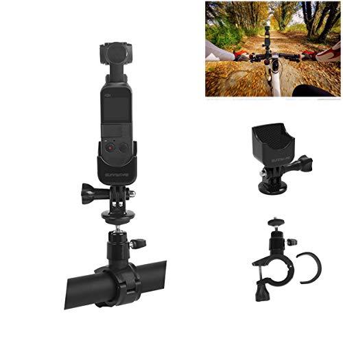 Tineer Fahrradhalterung Clamp Holder Mount Erweiterungsadapter Standard Set für DJI Osmo Pocket Handheld Gimbal Kamera