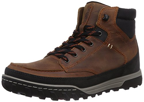 Ecco Urban Lifestyle, Chaussures Multisport Outdoor Homme Marron (Black/Amber)