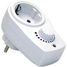 uniTEC 47535 - Interruptor con regulador de intensidad para luz
