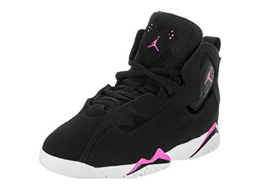 7f935c2c874 ... coupon code for jordan nike kids true flight gp black fuchsia blast  white basketball shoe 11