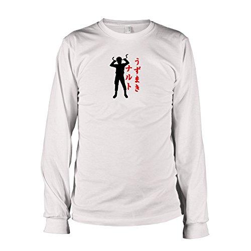 TEXLAB - Leaf Village Ninja - Langarm T-Shirt, Herren, Größe XXL, (Fan Kostüm Leafs)