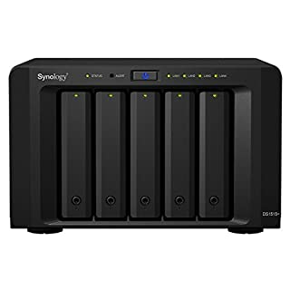 Synology DS1515+ - Servido NAS, 40 TB (B00OIP56D4) | Amazon price tracker / tracking, Amazon price history charts, Amazon price watches, Amazon price drop alerts