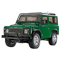 Tamiya 58657 - 1:10 RC Land Rover Defender 90 CC-01, remote controlled car/vehicle, model building, DIY kit, hobby, craft, model, assembly.