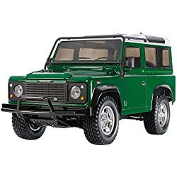 Tamiya 58657 58657-1:10 RC Land Rover Defender 90 CC-01 Remote Controlled Car/Vehicle Model Building Kit Unpainted