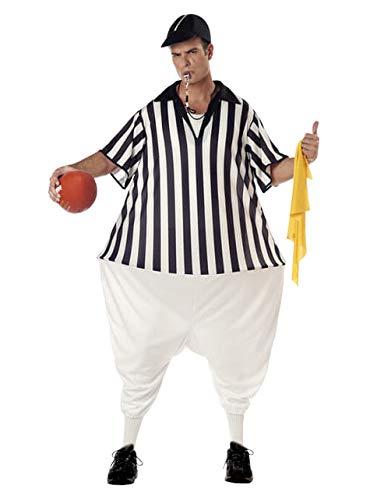 California Costumes Disfraz de árbitro de fútbol Americano para Hombre