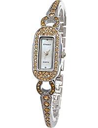 Time W50062L.01A - Reloj para mujeres, correa de acero inoxidable color gris