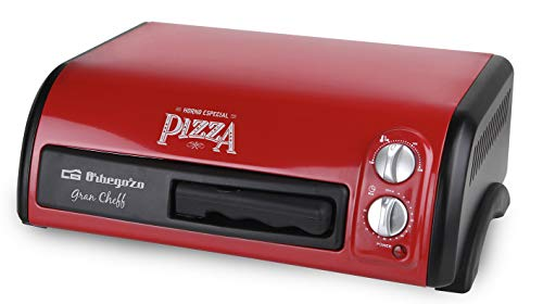 Orbegozo HO 150 - Horno para Pizza, 1300 W de Potencia, 15 litros de Capacidad, Temporizador 60 minutos...