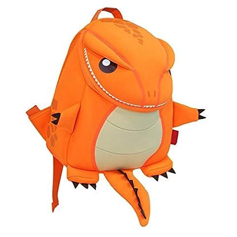 Yisibo Kinderrucksack Kindergarten Umwelt Rucksäcke 3D-Karikatur-nette Tier Schoolbags Zoo Tages Reisen Camping Kleinkind Sidekick -Jungen-Mädchen-Taschen