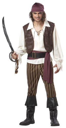 tüm für Erwachsene M (Caribbean Pirate Girl Kostüme)
