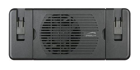 Speedlink Plexus Notebook Untersatz (für 11 Zoll bis 15,4 Zoll, Kühler schützt vor Überhitzung, zusammenklappbar)