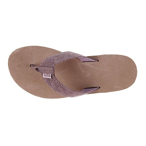 Teva Damen Sanda Classic Sandalen Strand Sommer Freizeit Schuhe Zehentrenner Grey/sea fog