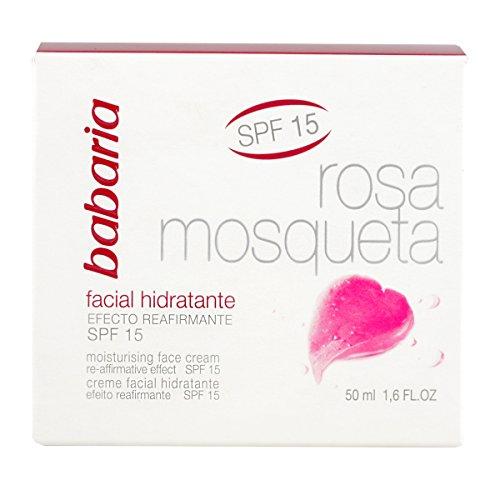 Babaria - Rosa Mosqueta SPF15 - Crema facial hidratante