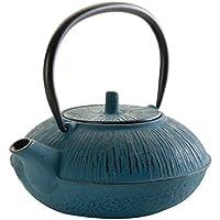 Lacor 68661 1L10 - Teiera in ghisa, colore: blu