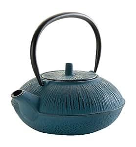 Lacor 68661 1L10 Théière Fonte Bleu