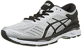 ASICS Men's Gel-Kayano 24 Running Shoes, Silver/Black/Mid Grey, 7.5 UK 42 EU (B0716TCBS7) | Amazon price tracker / tracking, Amazon price history charts, Amazon price watches, Amazon price drop alerts