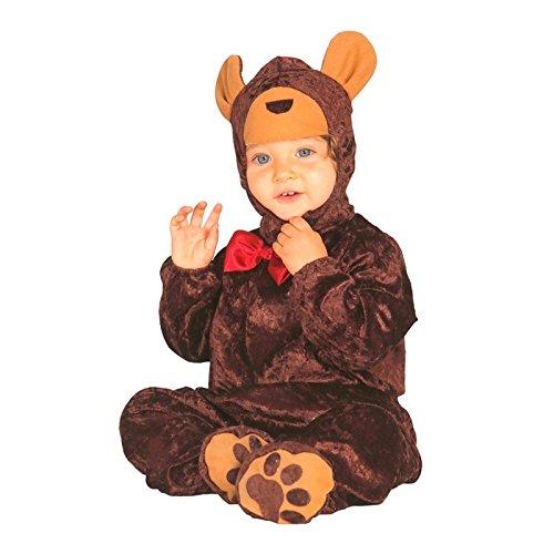 ostüm für Kinder Gr. 86 - 98, Größe:86/92 (Teddy Bär Kostüm Kind)