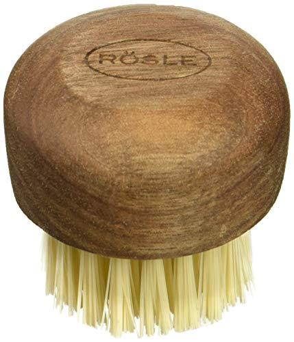 Rösle 12963 Mushroom Brush, Holz, braun, 4,0 x 4,0 x 4,4 cm