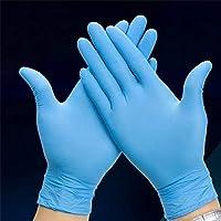 50 pares guantes de nitrilo desechables Azul Use guantes Resistencia Laboratorio Químico de Alimentos Electrónica Médica