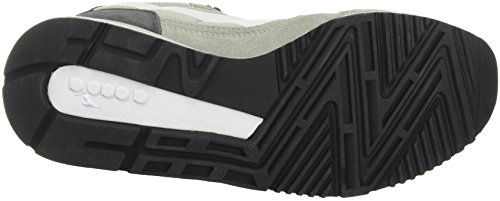 Diadora V7000 Nyl II, Sneaker Uomo Grigio (Grigio Tempestagrigio Acciaio)