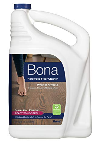 Bona Hardwood Floor Cleaner Refill, 128-Ounce by Bona (Bona Wood Floor)