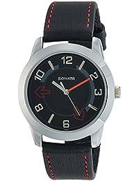 Sonata Yuva Analog Black Dial Men's Watch -NK7924SL04