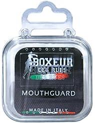 BOXEUR DES RUES BXT-MG04, Paradenti Unisex Adulto, Bianco, U