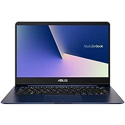 """Asus Zenbook UX430UA-GV259T - Ordenador portátil ultrafino de 14.0"""" Full HD (Intel Core i5-8550U, 8GB RAM, SDD de 256 GB, Intel HD Graphics 620, Windows 10) metal azul - Teclado QWERTY español"""