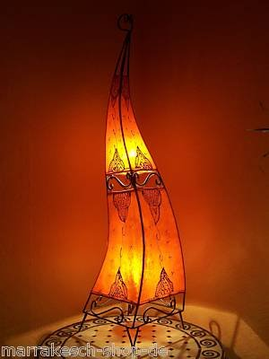 Orient Stehlampe Marrakesch orange 120cm