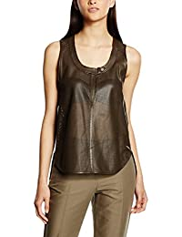 Belstaff Top Hales Dropneck Marrón ES 36 (IT 40)