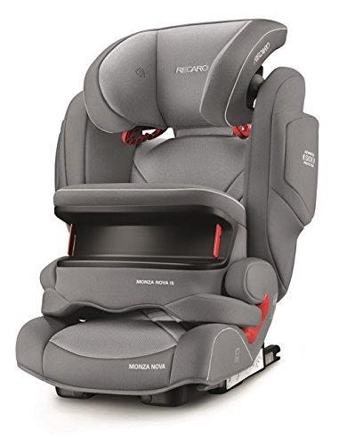Recaro 6148.21503.66Seggiolino Auto Monza Nova IS Seatfix, Alluminio Grigio