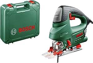 Bosch Scie Sauteuse PST 900 PEL (Lame, Pare-Éclats, Cutcontrol, Capot de Protection Transparent, Range-Lame,  Coffret, 620 W)
