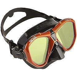 Seac Masque Italia Asian Fit de Plongée, Snorkeling, Natation Unisex