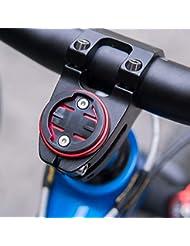Lorenlli VTT Route Vélo Vélo Ordinateur Titulaire Tige Capuchon Vélo Chronomètre GPS Compteur De Vitesse Support pour Garmin Bryton Fit CATEYE