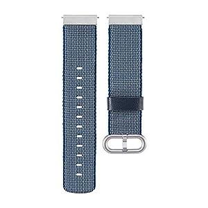 Armband für Samsung Galaxy Watch 46mm/Gear S3/ Gear2 – Bloodfin Nylon Gewebe Atmungsaktive Uhrenarmband Ersatzband mit Klettverschluss [Mehrfarbig]