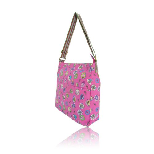 Borsa a tracolla – Tea Party – Anna Smith – Borsa a tracolla Pink