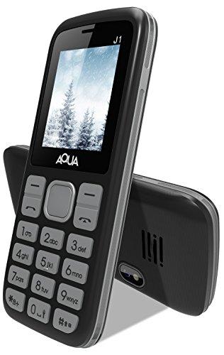 Aqua J1 - Dual SIM Basic Mobile Phone - Silver