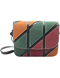 Amlaiworld Bolsos de hombro casuales Bolsas pequeñas para mujeres Bolso retro Bolso bandolera mujer Bolsa de viaje Crossbody Bolso (Negro, (H)16cm*(L)19cm*(W)5cm)