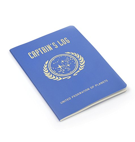 Star Trek Captain's Log Passport Sized Mini Notebook Star Trek Handy
