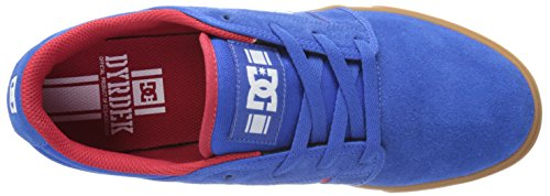 DC Shoes Rd Grand, Baskets mode homme bleu/rouge